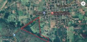 Terreno de 33,8 hectáreas en San Joaquín Caaguazú