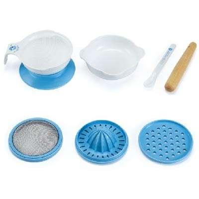 Procesador de alimentos básico para bebé set de 8 piezas - 1
