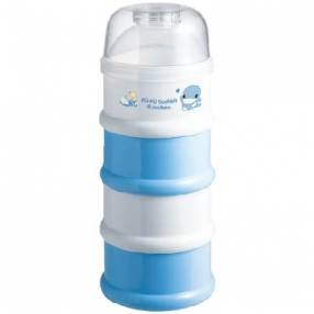 Recipiente para leche en polvo 4 niveles