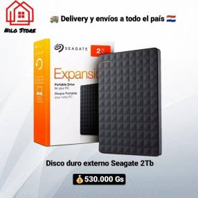 Disco duro externo Seagate 2 TB