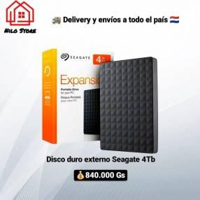 Disco duro externo Seagate 4 TB