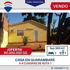 Casa en Guarambaré