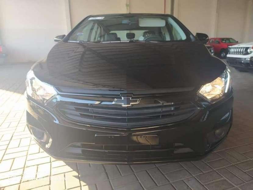 Chevrolet New Onix Joy Black Hatchback 2021 - 0