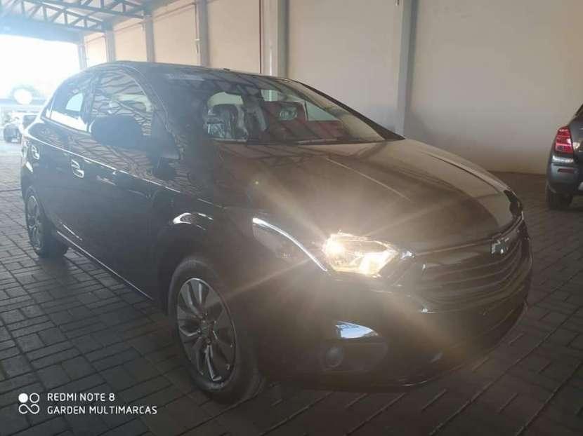 Chevrolet New Onix Joy Black Hatchback 2021 - 1