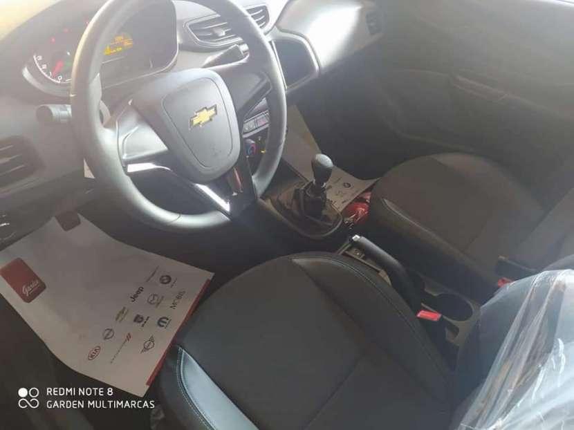 Chevrolet New Onix Joy Black Hatchback 2021 - 7