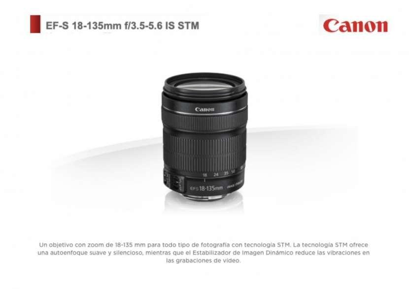 Lente Canon EF-S 18-135mm F/3.5-5.6 IS STM. - 0
