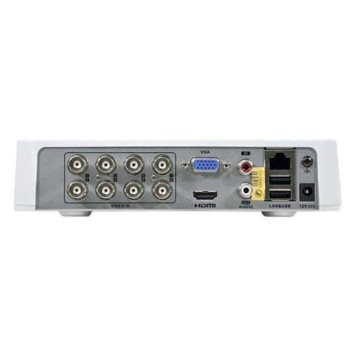 Kit CCTV de vigilancia Vizzion VZ-KIT0804 8 CH + 4 Cámaras - 1