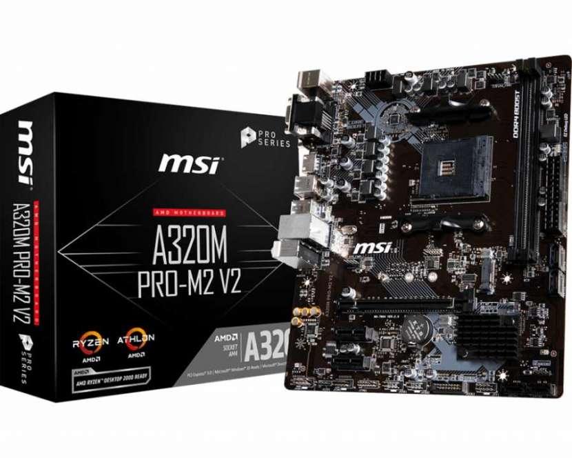 Placa madre AMD AM4 MSI A320M Pro M2 V2-HDMI/VGA/DVI/USB 3.1 - 2