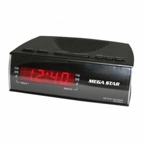 Radio despertador Mega Star FRC455