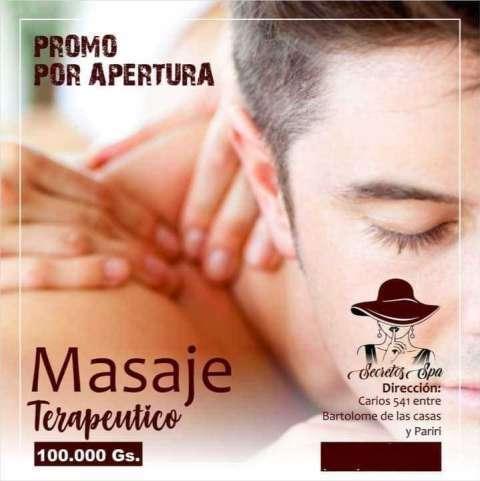 Masaje terapéutico - 0