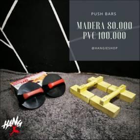 Push Bars de madera y de PVC