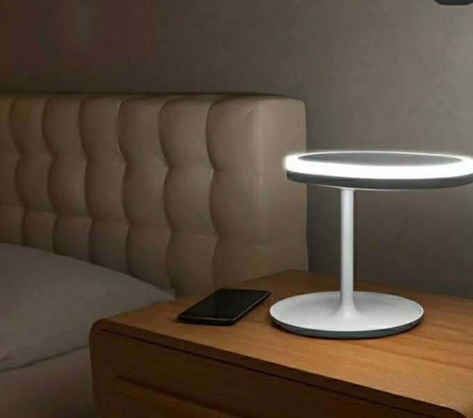 Espejo con luz led movible - 1
