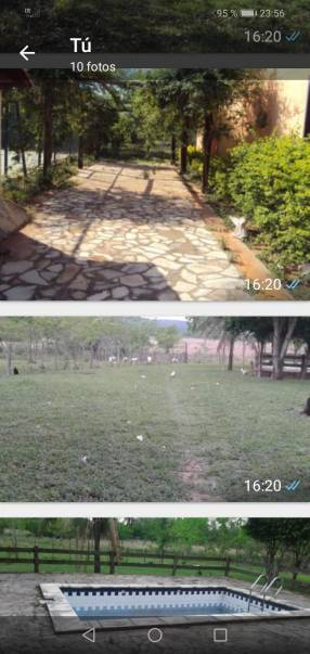 150 hectáreas en Pirayú