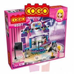Estudio de tv juego de construcción Cogo Blocks 227 piezas