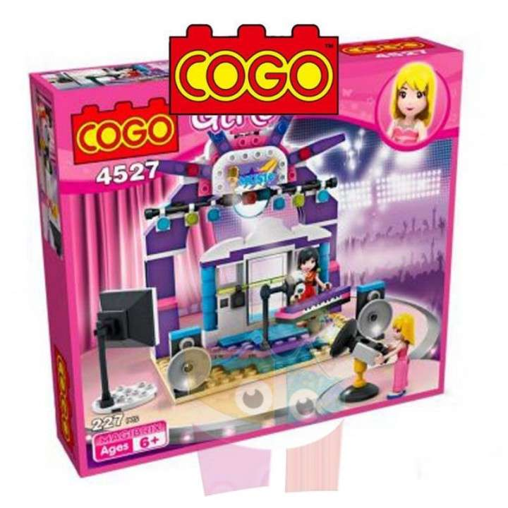 Estudio de tv juego de construcción Cogo Blocks 227 piezas - 0