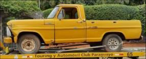 Ford F100 1972 diésel mecánico 4x2