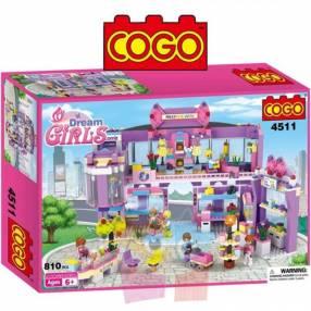 Shopping juego de construcción Cogo Blocks 810 piezas