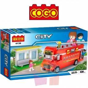 City Tour juego de construcción Cogo Blocks 436 piezas