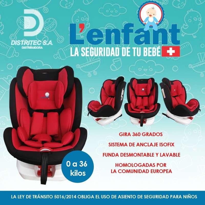 ASIENTO BABY SEAT PARA AUTO LENFANT RN A 36 KILOS (3733) - 6