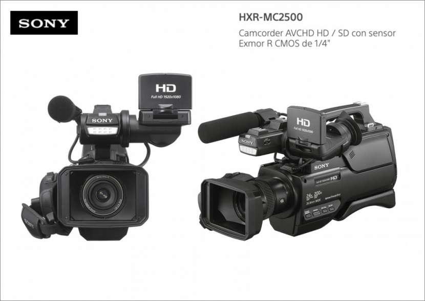 Filmadora Sony HXR-MC2500 - 0