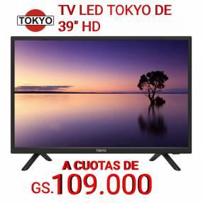 Televisor LED HD Tokyo de 39 pulgadas
