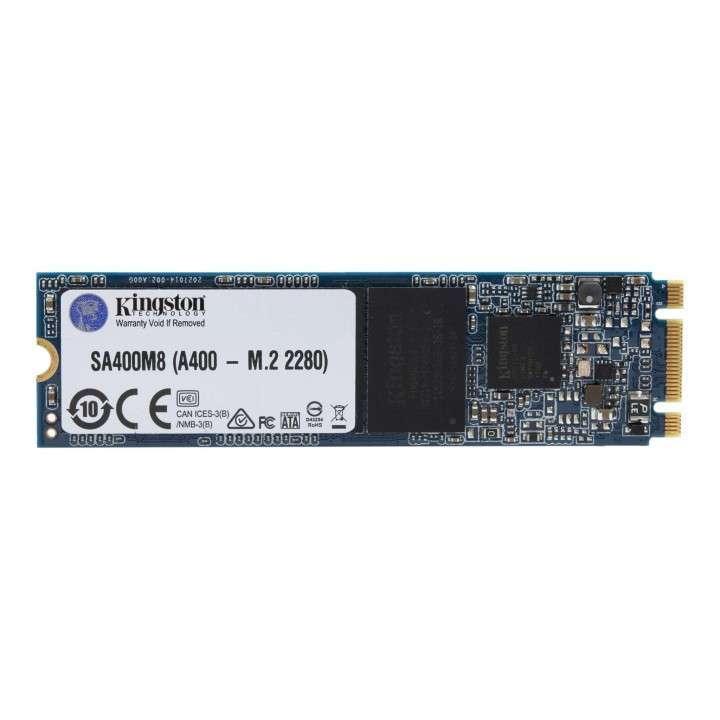 Disco SSD 480 GB Kingston A400 Formato M.2 - 0
