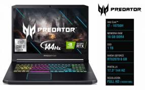 Notebook Acer Predator Helios 300 17.3 pulgadas