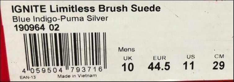 Calzado Puma Ignite Limitless Brush Suede - 4
