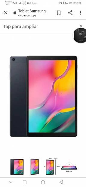 Tablet Samsung Galaxy A 10.1 pulgadas LTE 32 GB