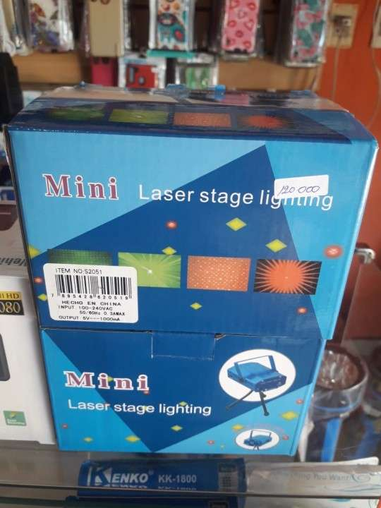 Proyector láser con luces de colores - 2