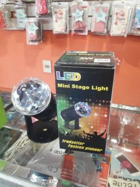 Luz led de colores con sensor de movimiento