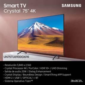 TV Smart Crystal Samsung de 75 pulgadas