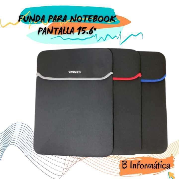 Funda protector para notebook pantalla 15.6 pulgadas - 0