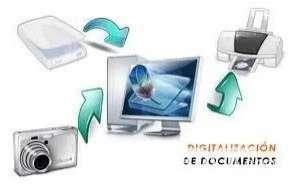Digitalización de documentos facturas y libros - 1