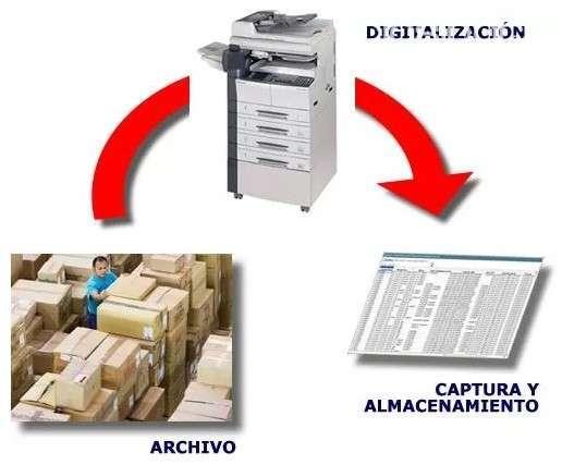 Digitalización de documentos facturas y libros - 0