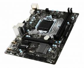 Placa madre Intel LGA 1151 MSI H110M-PRO VH-2XDIMM hasta 32 gb