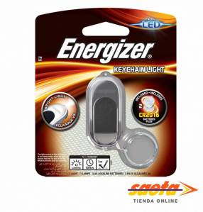 Energizer Linterna Hi-Tech Key Ring para colgar o llavero