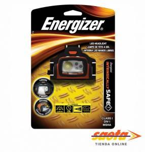 Linterna manos libres led Energizer con 4 modos
