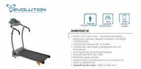 Caminadora Evolution Gimevo07-N