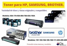 Tóner compatible importado todas las marcas