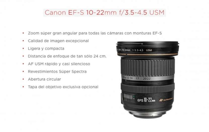 Lente Canon EF-S 10-22mm F/3.5-4.5 USM - 0