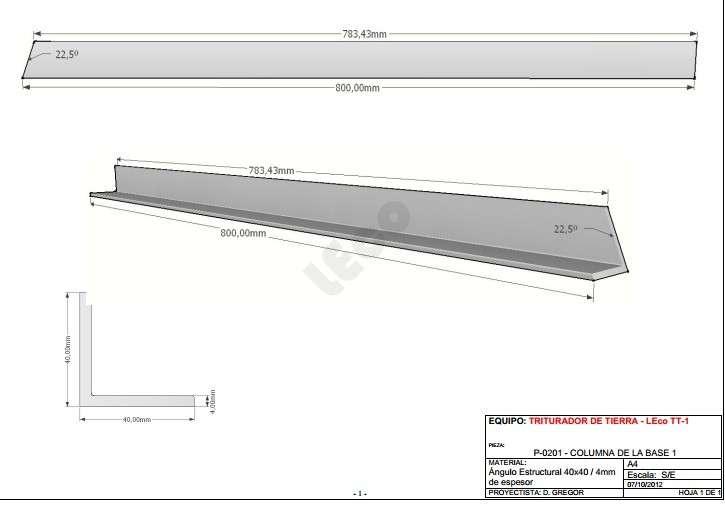 Manual para fabricación de máquina de ladrillos ecológicos - 6
