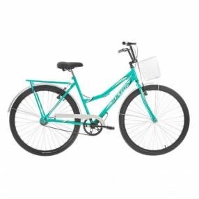 Bicicleta aro 26 summer vintage line ultra bikes azul blanco
