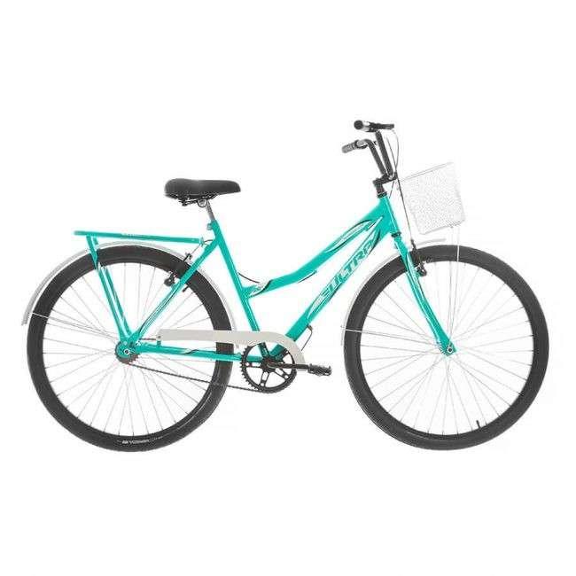 Bicicleta aro 26 summer vintage line ultra bikes azul blanco - 0