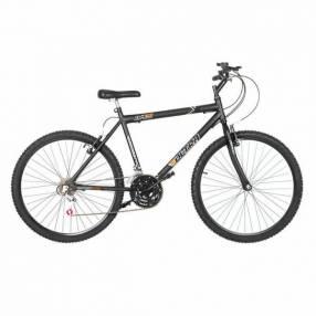 Bicicleta aro 26 masculina ultra bikes negro mate