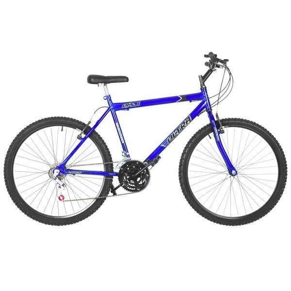 Bicicleta aro 26 masculina ultra bikes azul - 0
