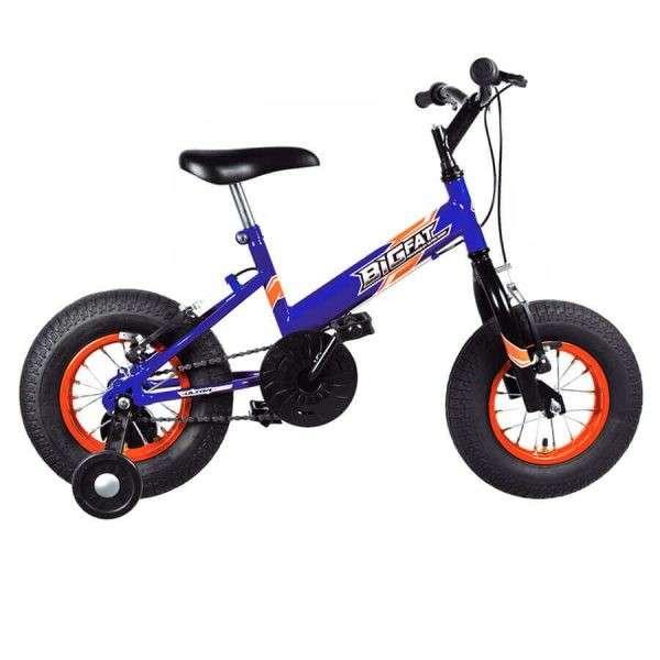 Bicicleta big fat infantil ultra bikes azul - 0