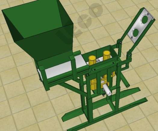 Manual para fabricación de máquina de ladrillos ecológicos - 1