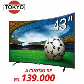 Televisor LED Tokyo 43 pulgadas FHD Curvo