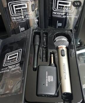 Micrófono inalámbrico Prosper
